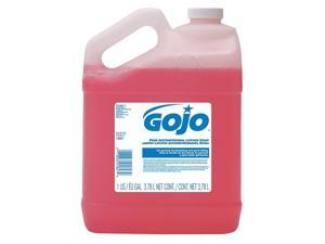 GOJO 1847-04 Antimicrobial Lotion Soap, Lotion, PK 4