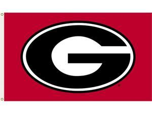 Bsi Products 95607 3 Ft. X 5 Ft. Flag W/Grommets - Georgia Bulldogs