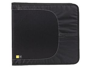 Case Logic CDW-128TBlack 136 capacity cd wallet black