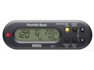 Korg HB1 Metronome with Humidity/Temperature Detector - Black