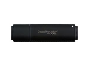 Kingston DataTraveler 4000 8GB USB 2.0 Flash Drive 256bit AES Encryption Model DT4000/8GB