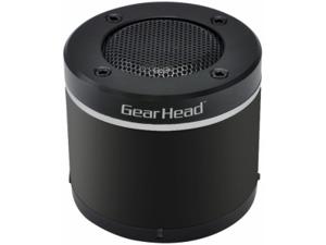 Gear Head BT3000BLK Speaker System - Wireless Speaker(s) - Black, Silver - Bluetooth - USB - iPod Supported