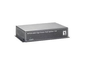 LevelOne POS-4000 High Power PoE Splitter 12V 30W Indoor