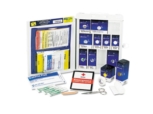 Medium First Aid Kit 112-Pieces OSHA Compliant Metal Case