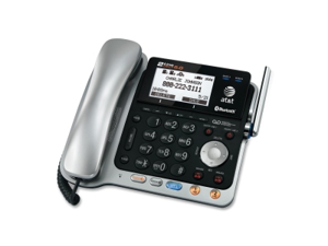 AT&T TL86109 Two-Line DECT 6.0 Phone System with Bluetooth