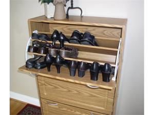 Deluxe Triple Shoe Cabinet