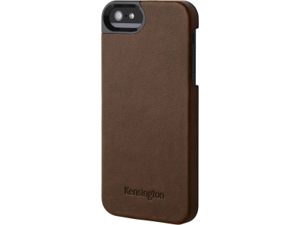 Kensington Vesto Brown Solid Leather Texture Case for iPhone 5 K39625WW