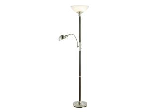 Adesso Lexington Combo Tall Floor Lamp