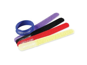 """Cable Ties, 7""""x3/4""""x1/16"""", 10/PK, Assorted CCS13081"""