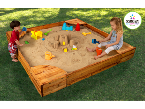 KidKraft Backyard Sandbox - 130
