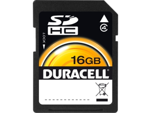 Duracell DU-SD-16GB-R 16 GB Secure Digital (SD) Card