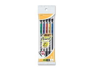 BIC MPP51 - Mechanical Pencil #2 Pencil Grade - 0.7 mm Lead Size - 5 / Pack