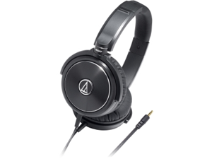 """Audio-Technica ATH-WS99 3.5 mm (1/8""""), mini-stereo, gold-plated Connector Solid Bass Over-Ear Headphones"""