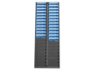 Pyramid 40 Pockets Badge Rack 1 EA/BX 500-4