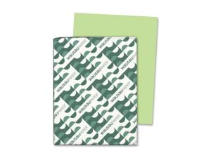 Wausau Paper WAU21859 - Neenah Paper Astrobrights Colored Paper, 24lb, 8-1/2 x 11, Vulcan Green, 500 Sheets/Ream