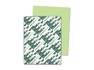 Wausa WAU21869 - Neenah Paper Astrobrights Colored Card Stock, 65 lb., 8-1/2 x 11, Vulcan Green, 250 Sheets