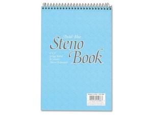 "Steno Book 16 lb. 80 Sheets 6""x9"" Pastel Blue"