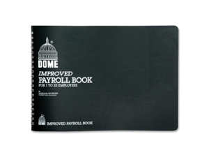 Dome Publishing Payroll Book 1 EA