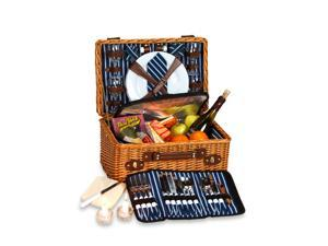 Picnic Plus Wynberrie 4 Person Picnic Basket-WILLOW