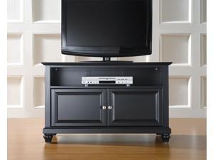 "Crosley Cambridge 42"" TV Stand in Black"