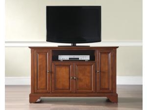 "Crosley LaFayette 48"" TV Stand in Classic Cherry"