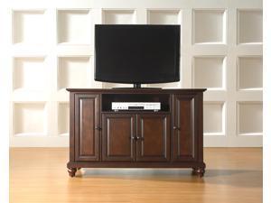 "Crosley Cambridge 48"" TV Stand in Vintage Mahogany"