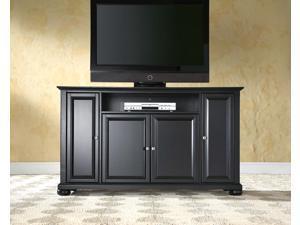 "Crosley Alexandria 60"" TV Stand in Black"