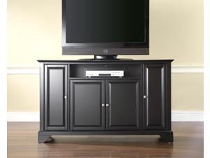 "Crosley LaFayette 60"" TV Stand in Black"
