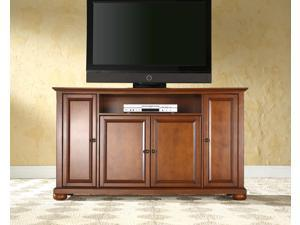 "Crosley Alexandria 60"" TV Stand in Classic Cherry"