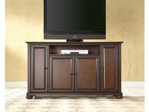 "Crosley Alexandria 60"" TV Stand in Vintage Mahogany"