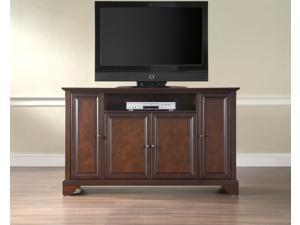 "Crosley LaFayette 60"" TV Stand in Vintage Mahogany"