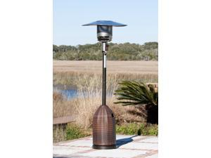 WT Living All Weather Wicker Patio Heater
