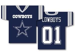Fremont Die- Inc. 93903B Jersey Banner 34'' x 30'' - 2-Sided - Dallas Cowboys