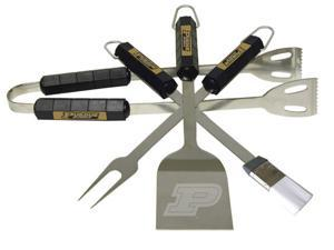 Bsi Products 61033 4 Pc Bbq Set - Purdue Boilermakers