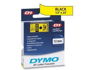 Sanford LP 45018 BLACK PRINT/ YELLOW TAPE  1/2 X 23