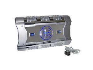 BrandX - 1204 Watt 4 Channel Mosfet Amplifier with Digital Voltage/Amperage Display
