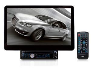 Pyle 13.1'' Motorized TFT/LCD Touch Screen Detachable Display DVD/VCD/CD/MP3/CD-R/USB/AM/FM/RDS Receiver w/ Bluetooth System and AUX A/V Input For iPod/Smart Phones/MP3 Players