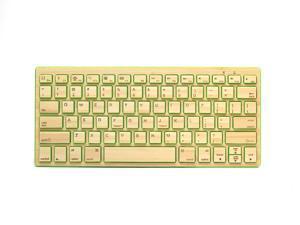 Impecca KBB78BTG Bamboo Bluetooth Keyboard - Green