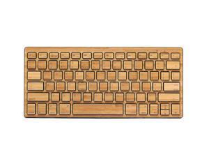 Impecca KBB78BTK Bamboo Bluetooth Keyboard - Black