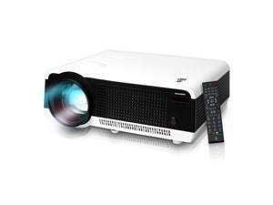 Pyle HD LED Projector with 1080p Support Built-In Speakers & USB Flash Drive Reader