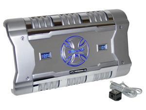 588 Watt 2 Channel Mosfet Amplifier with Digital Voltage/Amperage Display