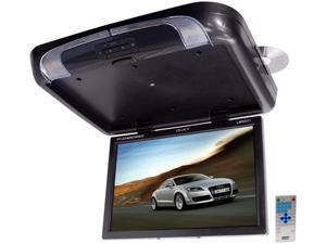 Legacy - TFT Flip Down Roof Mount W/ Built-In DVD/SD/USB Player/Wireless FM Modulator & IR Transmitter