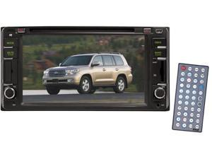 Pyle - Direct Factory Replacement for Toyota Land-Cruiser 2000--2006 Touch Screen DVD/MPEG4/MP3/CD-RW/USB/SD/ System With 6.5'' HD Monitor and Bluetooth