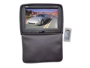 Pyle - Adjustable Headrests w/ Built-In 11'' TFT/LCD Monitor W/IR Transmitter & Cover (Black)