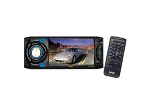 Pyle - 4.3'' Touch Screen TFT/LCD Monitor w/ Digital Video Player/CD/MP3/USB/SD/AM/FM/RDS Player