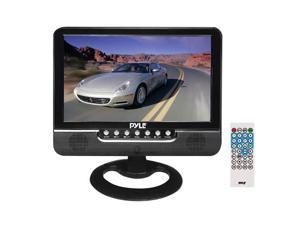 Pyle - 9'' Battery Powered TFT/LCD Monitor with MP3/MP4/USB/SD/MMC Card Player