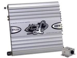 Lanzar - Heritage 800 Watt 2 Channel Mosfet Amplifier