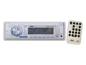 Pyle - AM/FM-MPX PLL Tuning Marine Radio w/SD/MMC & USB (Refurbished)