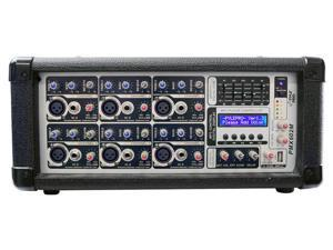 PylePro - 6 Channel 600 Watts Powered Mixer w/ MP3