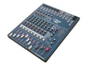 PylePro - 12 Channel Digital DSP Console Mixer With Built-in Sound Effects